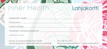 Inner Health lahjakortti